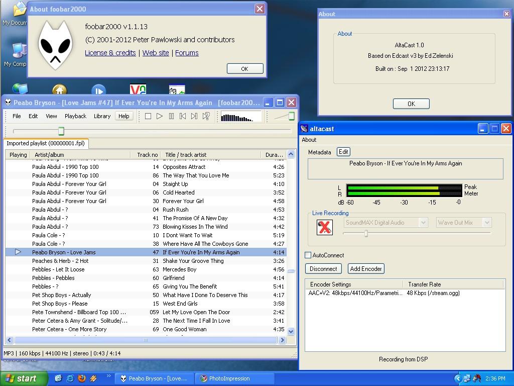 AltaCast | Free Broadcasting Tools